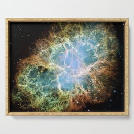 Crab Nebula Serving Tray