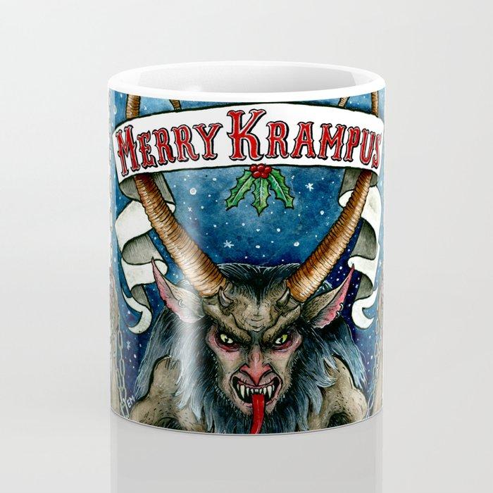 Merry Krampus Coffee Mug