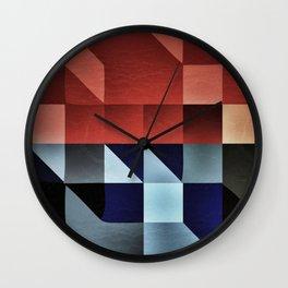 :: geometric maze IX :: Wall Clock