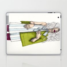 Fashion Illustration - Patterns and Prints - Part 2 Laptop & iPad Skin