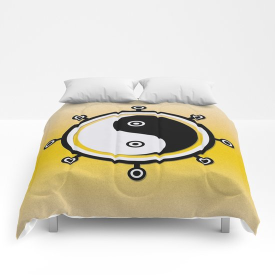 Yin yang Comforters