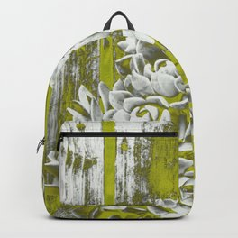 Chartreuse Green Hen and Chicks Backpack