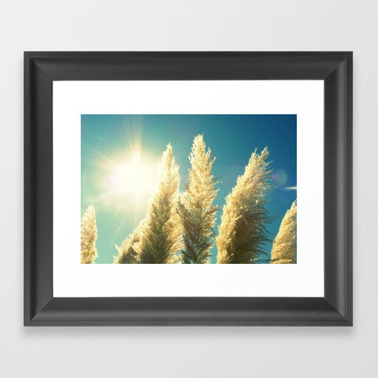 Expect Miracles Framed Art Print