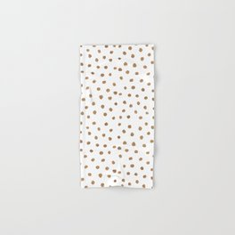 Goldie Dots Hand & Bath Towel