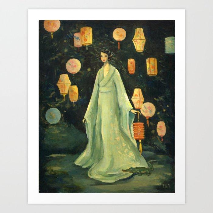 The Lantern Garden Kunstdrucke