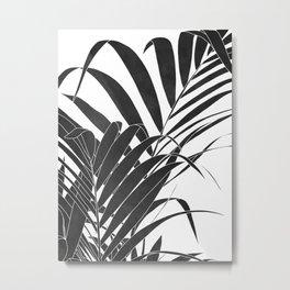 minimalist palm leaves Metal Print