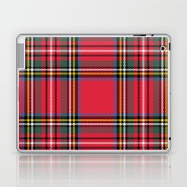 Red & Green Tartan Pattern Laptop & iPad Skin