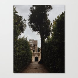 Castle in the hills Canvas Print