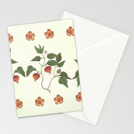 Physalis trio Stationery Cards