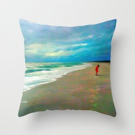 Sanibel Storm Throw Pillow