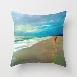 Sanibel Storm Throw Pillow