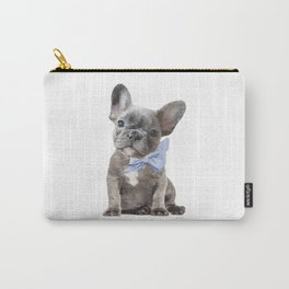 French bulldog, Frenchie, Blue Grey by Amanda Greenwood Carry-All Pouch