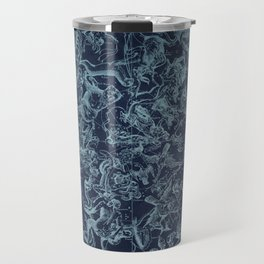 Vintage Constellation & Astrological Signs Travel Mug