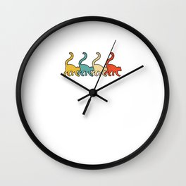 Vintage Retro Pop Art Lemur Primate Gift Idea Wall Clock
