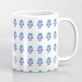 pink star 2-sky,light,rays,hope,pointed,mystical,estrella,nature,spangled,girly,gentle,star,sun Coffee Mug