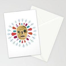 Halloween print: Mummy Stationery Cards