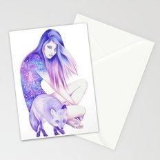 Galaxy Wanderer Stationery Cards