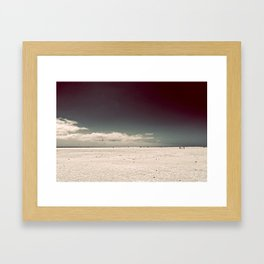 Walking On Framed Art Print