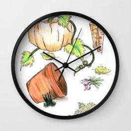 The Allotment Wall Clock