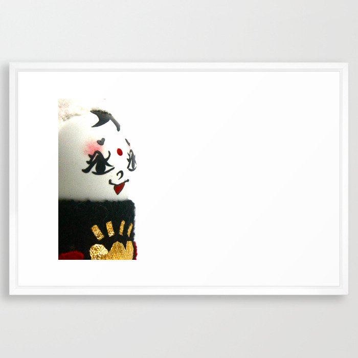 China Doll Framed Art Print