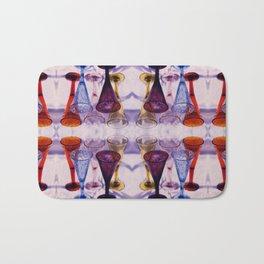 Wine Glass Photographic Pattern #1 Bath Mat