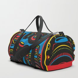 Black Camera Duffle Bag