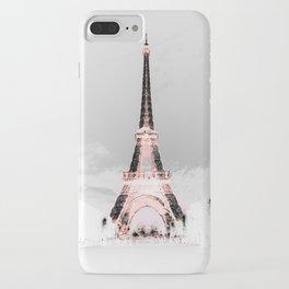 pariS Black & White + Pink iPhone Case