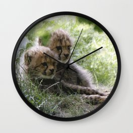 Cheetah_20171201_by_JAMColorsSpecial Wall Clock