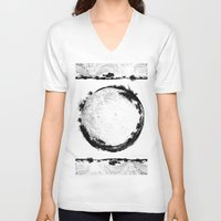 coachella V-neck T-shirts featuring Coachella Valley Desert Sphere Tee by Coachella Valley Spheres