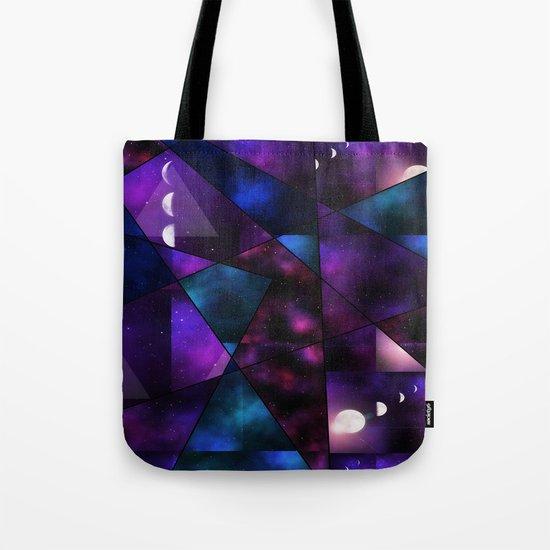 Cosmic Glass Tote Bag