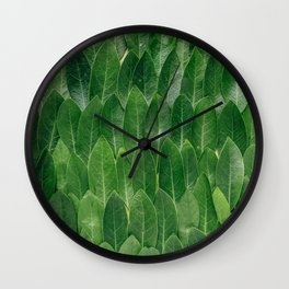 All Lined Up Wall Clock