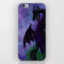 Dragon Maleficent iPhone Skin