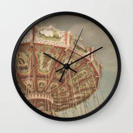 Vintage Swings Wall Clock
