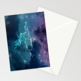 lepus the hare Stationery Cards
