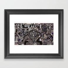 Raw Data (Still Frame 1) Framed Art Print