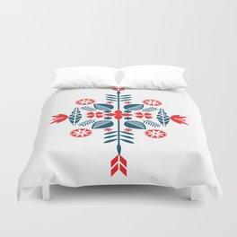 Scandinavian Folk Pattern Duvet Cover