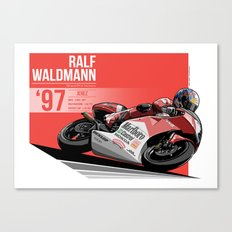 Ralf Waldmann - 1997 Jerez Canvas Print