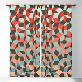 Penrose tiling I Blackout Curtain