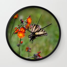 Pasture in Bloom Wall Clock