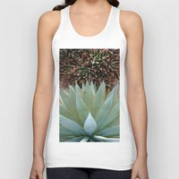 succulents Tank Tops featuring Succulents by Juliette