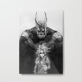 All migh Metal Print