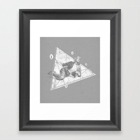 The Widow Trap Framed Art Print