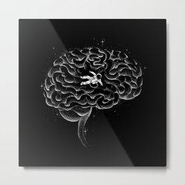 I'm Lost in My Own Mind Metal Print