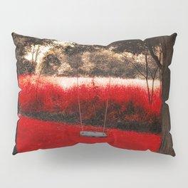 Red Velvet Pillow Sham
