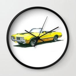 4-4-2 Wall Clock