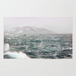 The Ocean in Winter Rug