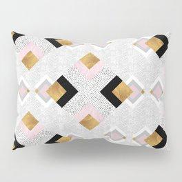Rhombus geometric Pillow Sham