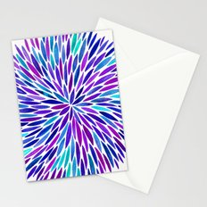 Lavender Burst Stationery Cards