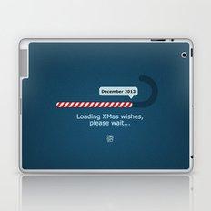 XMAS Wishes preloader Laptop & iPad Skin