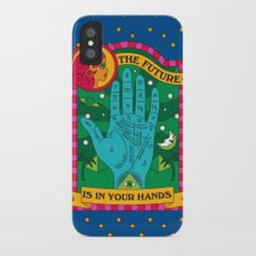 The Future is In Your Hands iPhone X Slim Case